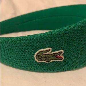 Lacoste Accessories - Lacoste Green Headband